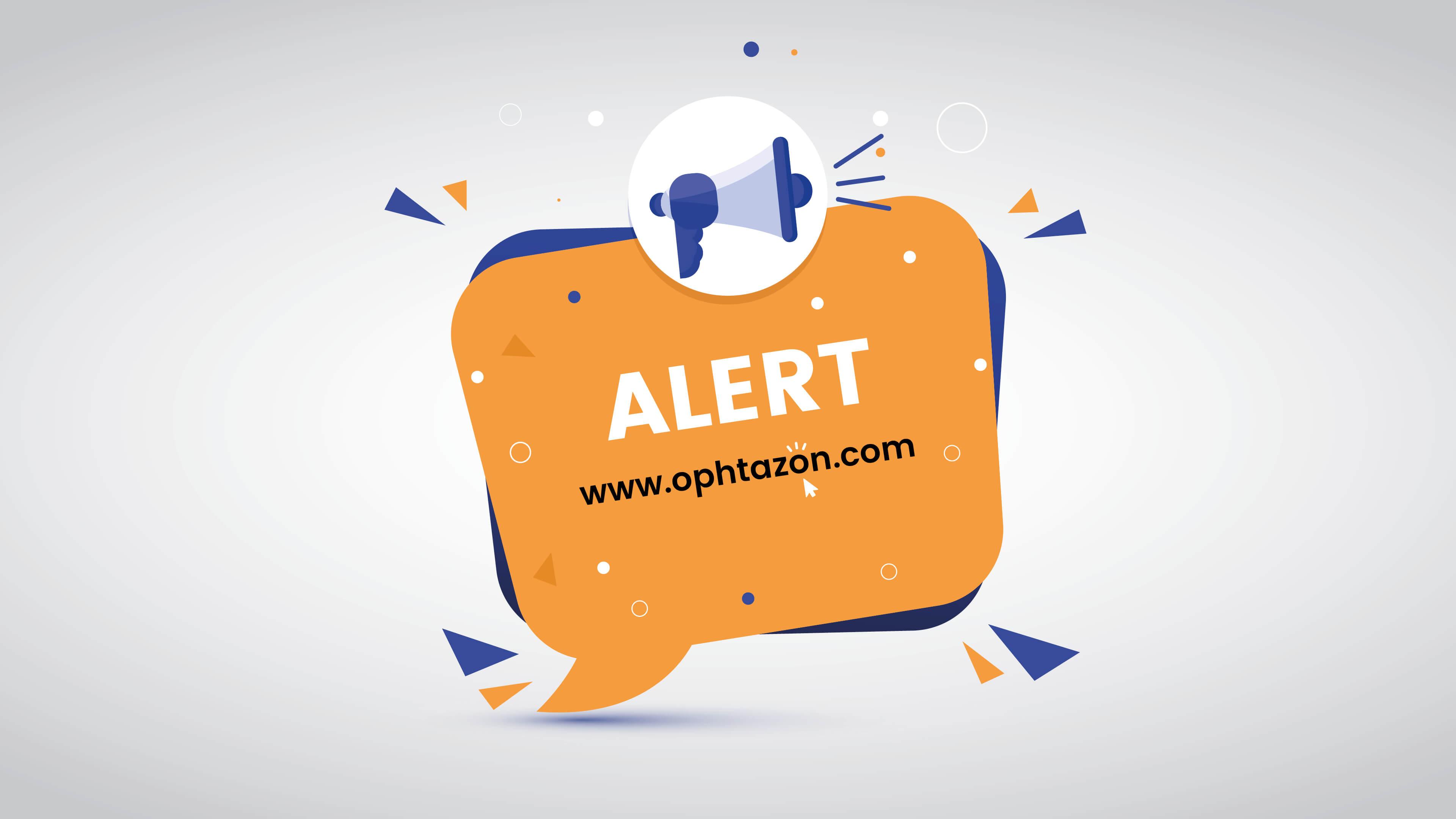 Créer une alerte sur OPHTAZON pour trouver ce que vous cherchez