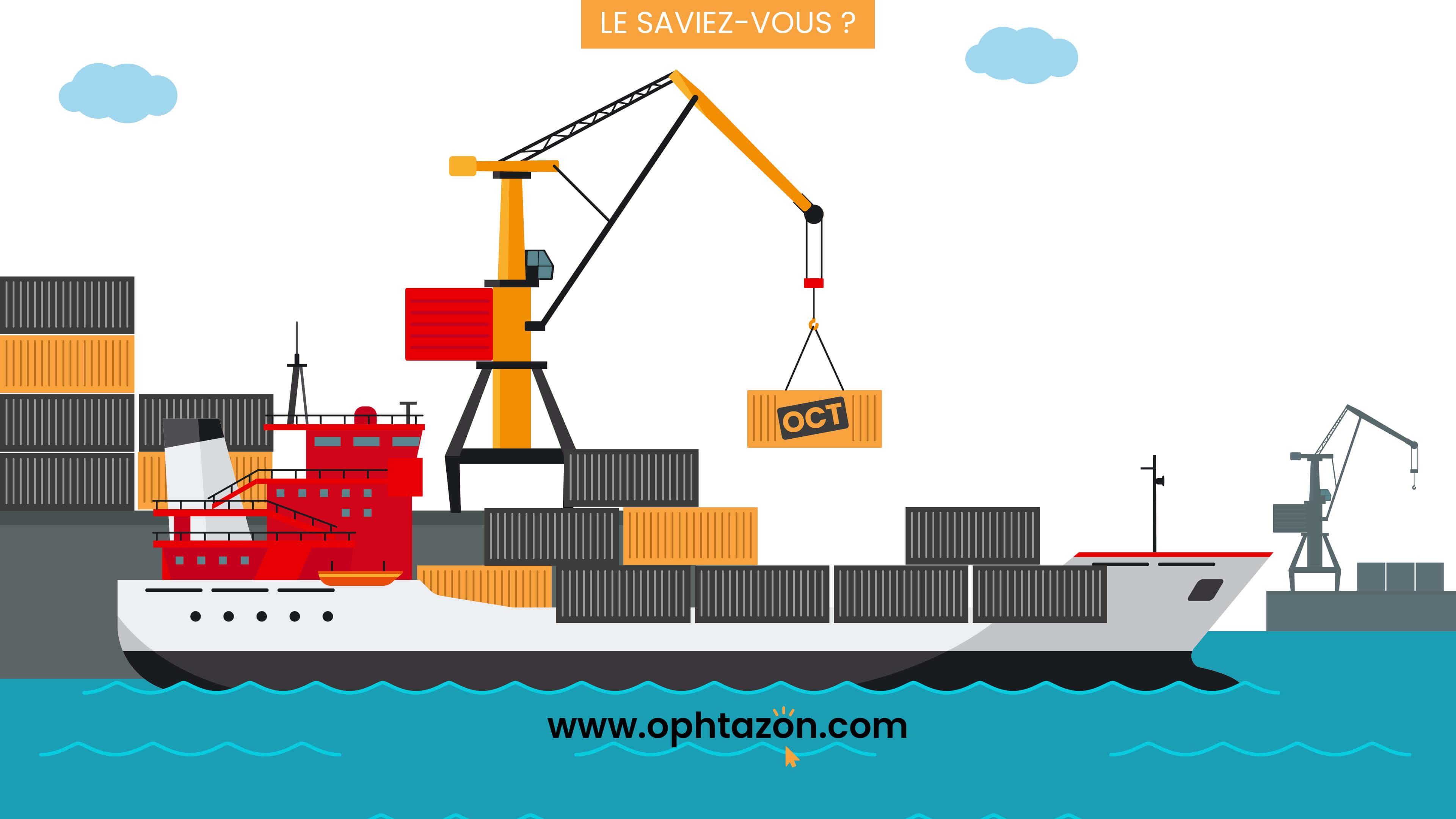 Ophtazon propose du fret maritime