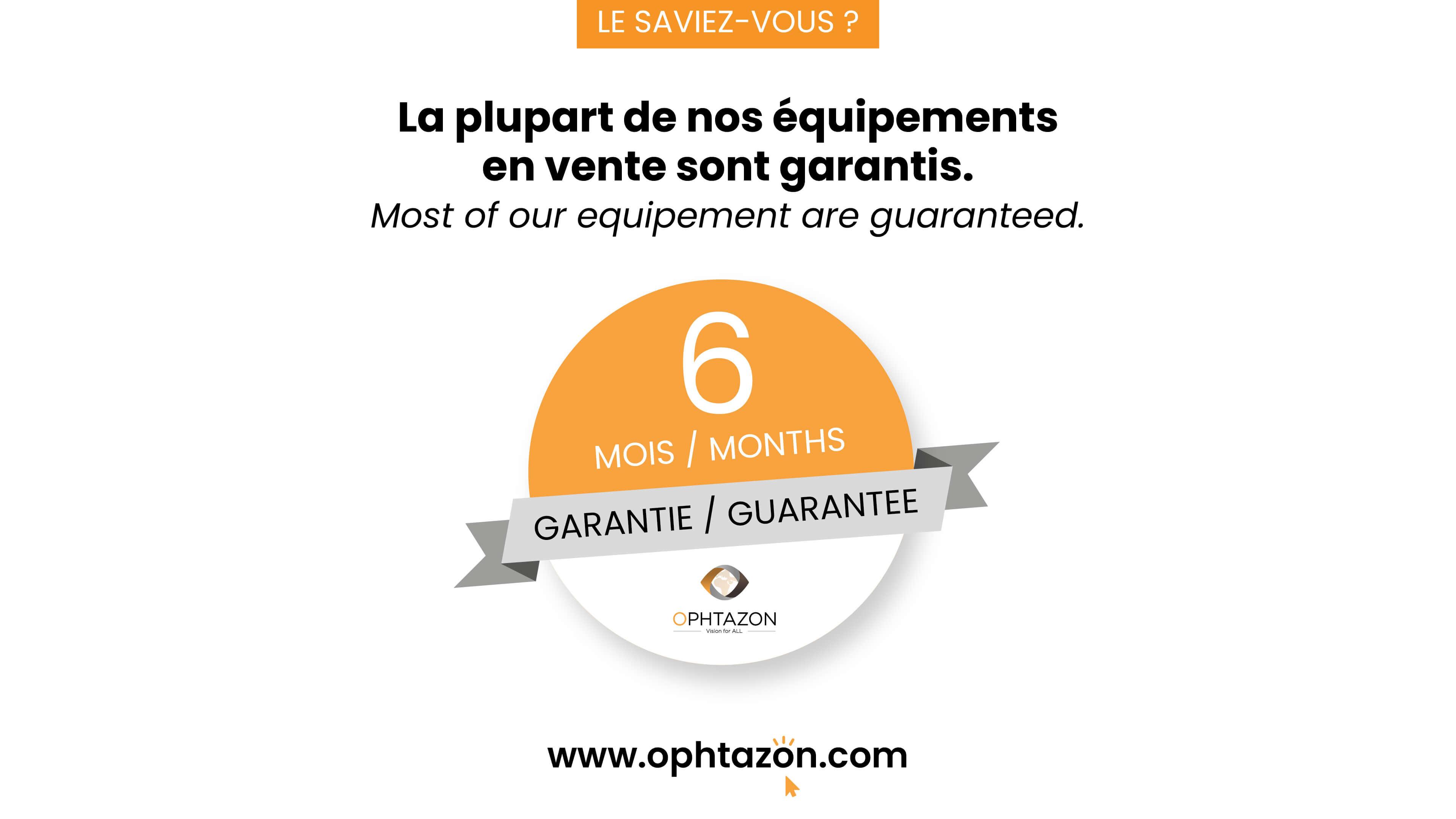 La garantie 6 mois