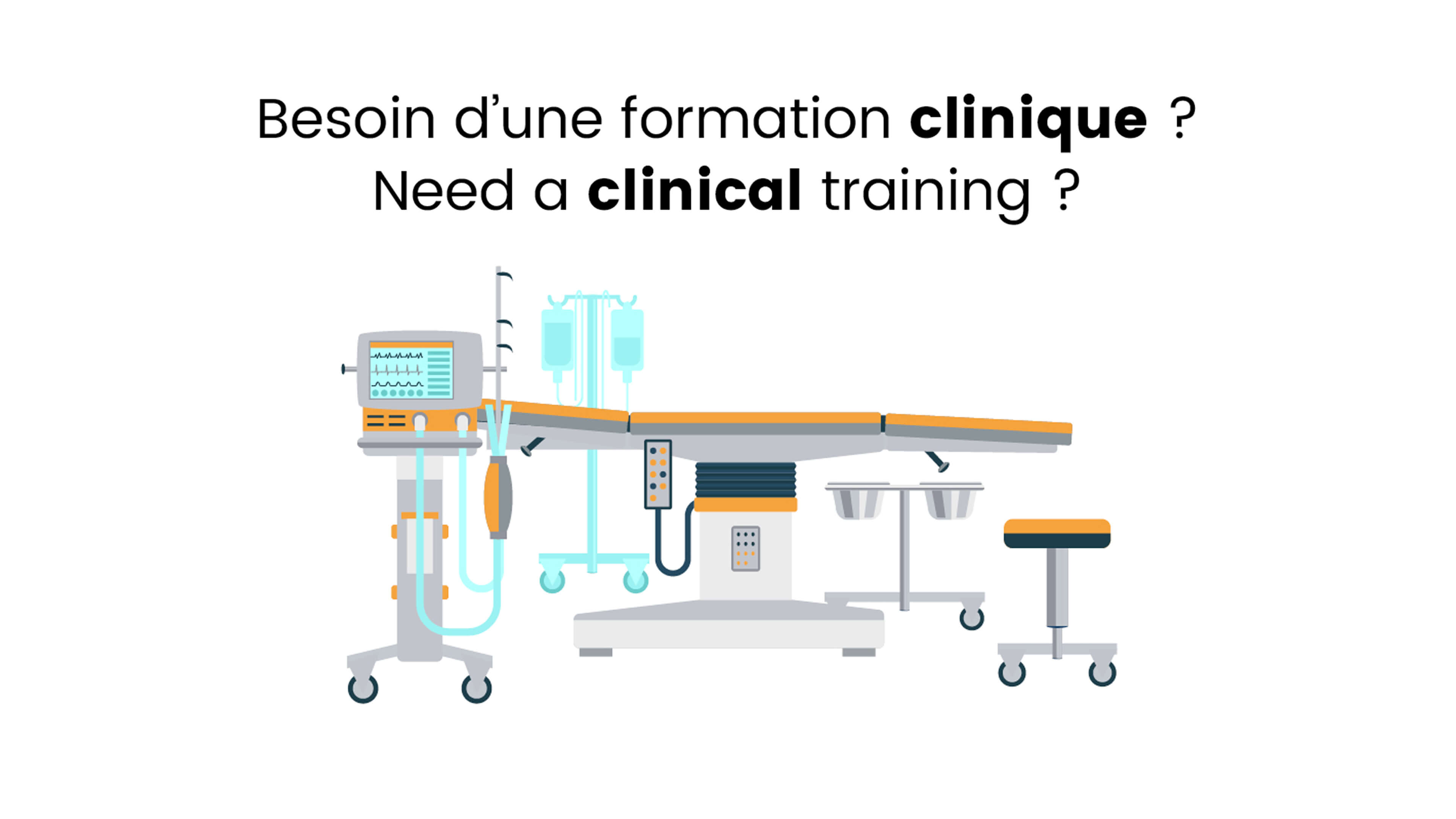 Besoin d'une formation clinique ?
