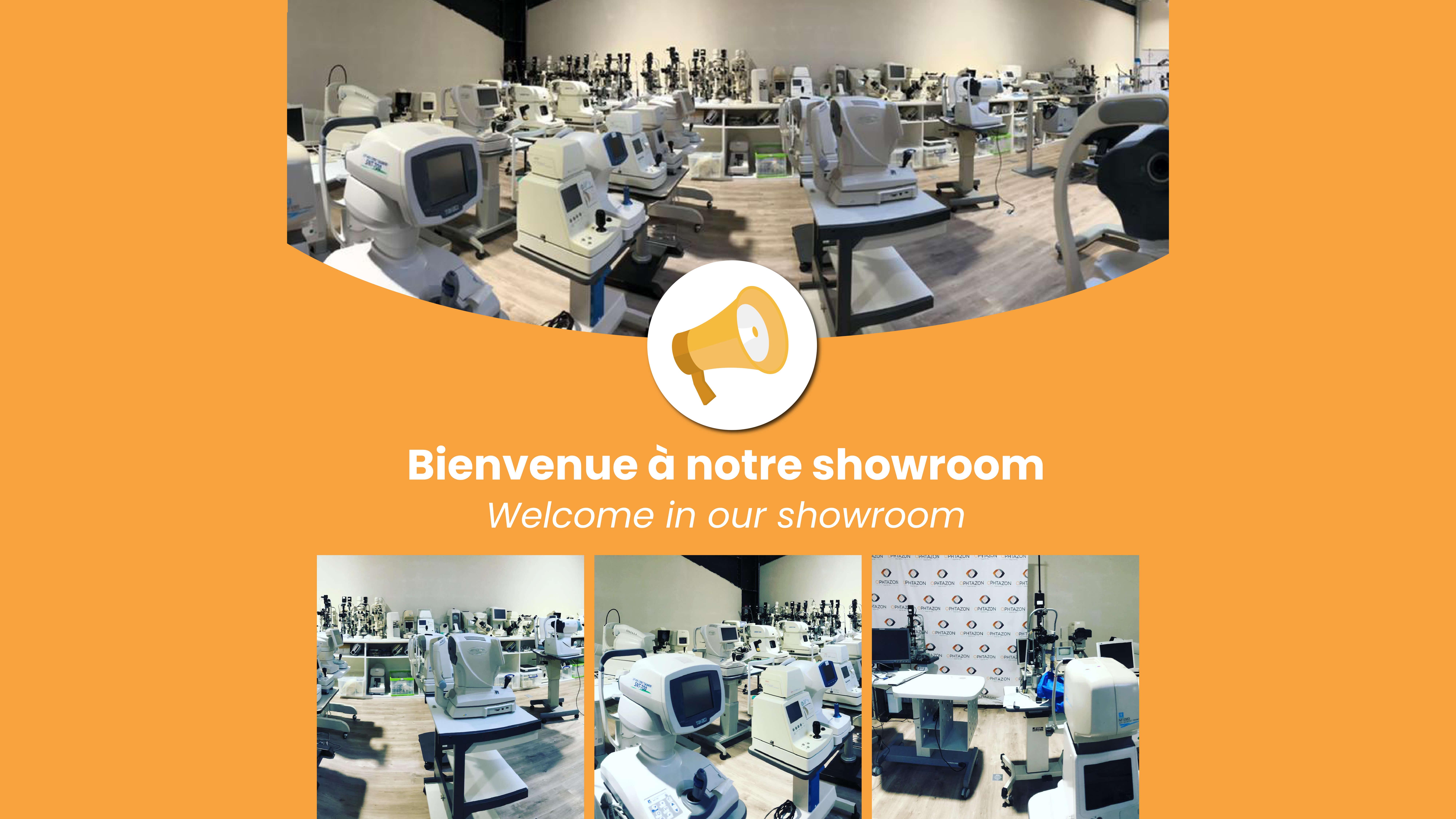 Bienvenue à notre showroom