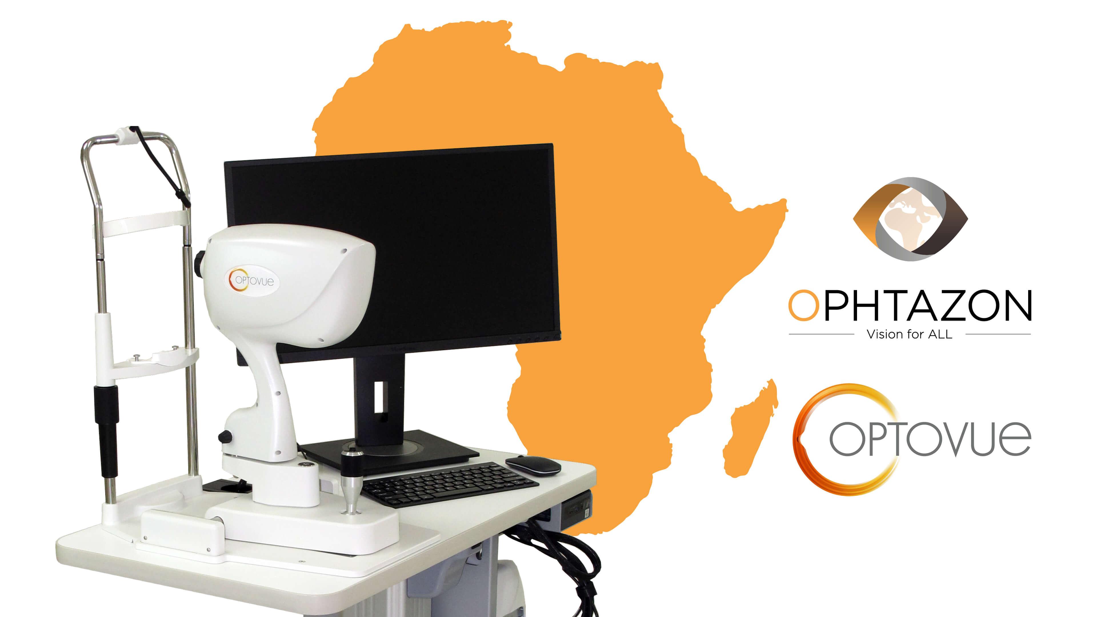 OPHTAZON, le distributeur officiel OPTOVUE en Afrique