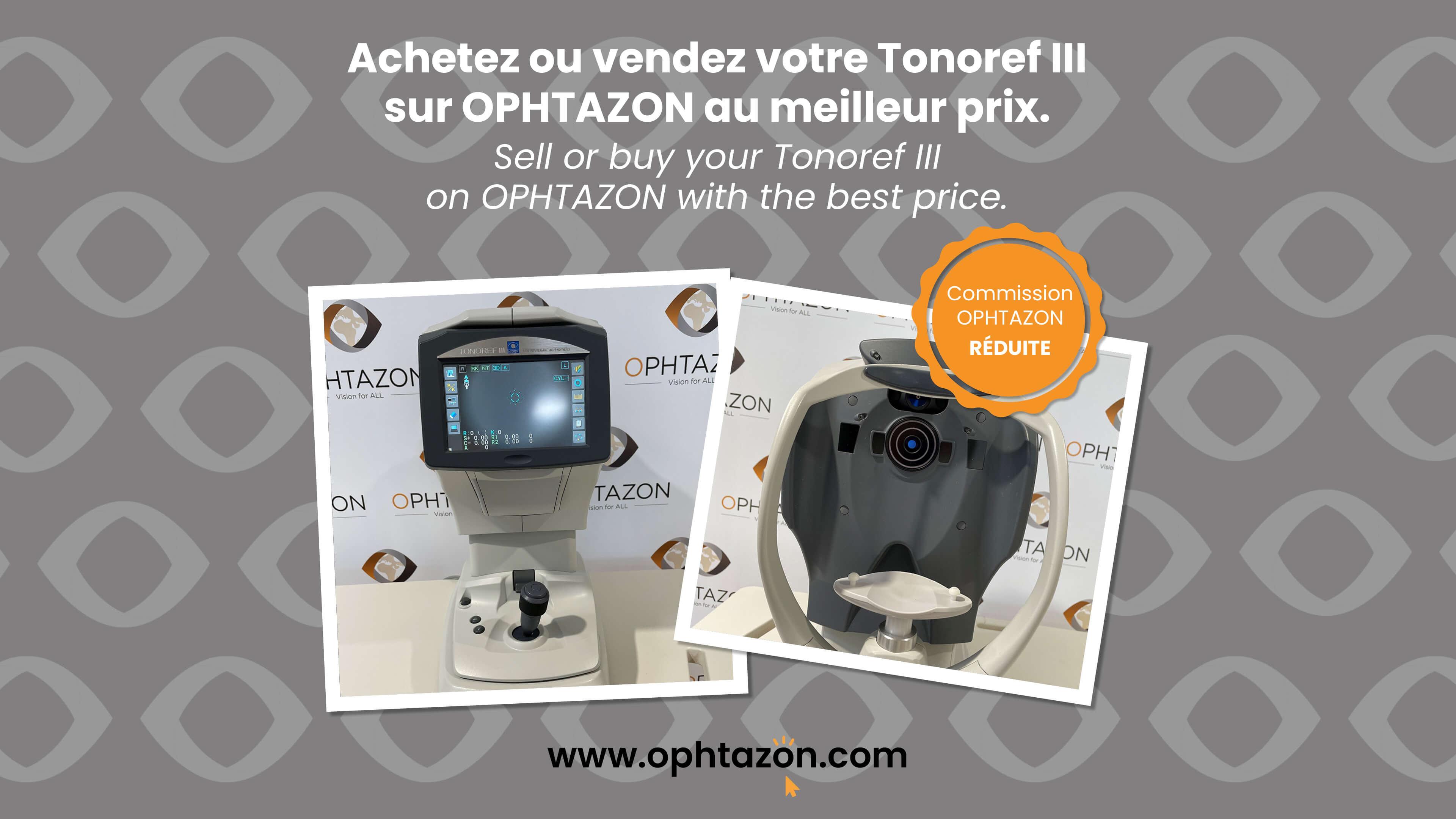 1ère vente d'un Tonoref III Nidek !