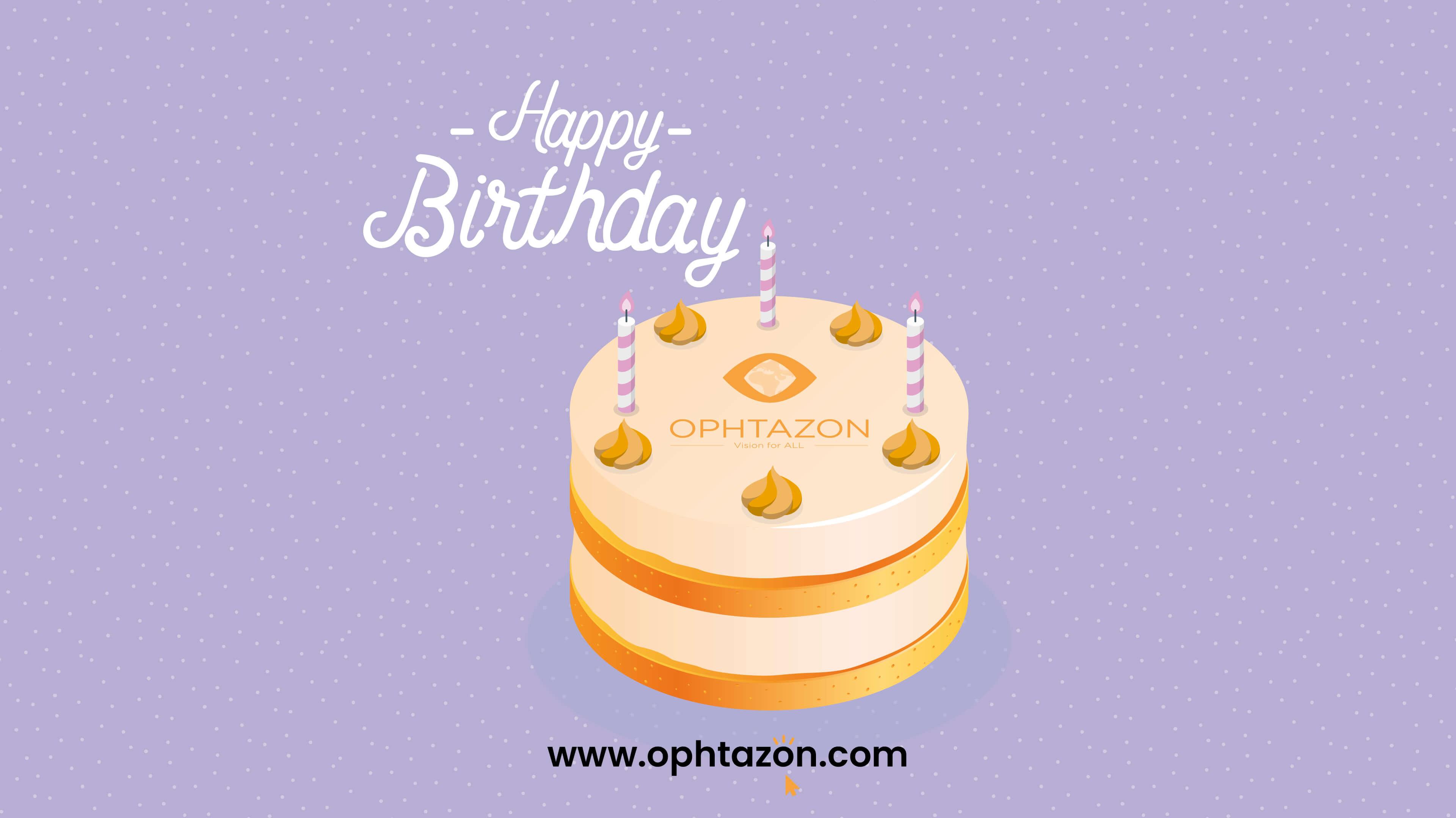 Bon anniversaire !