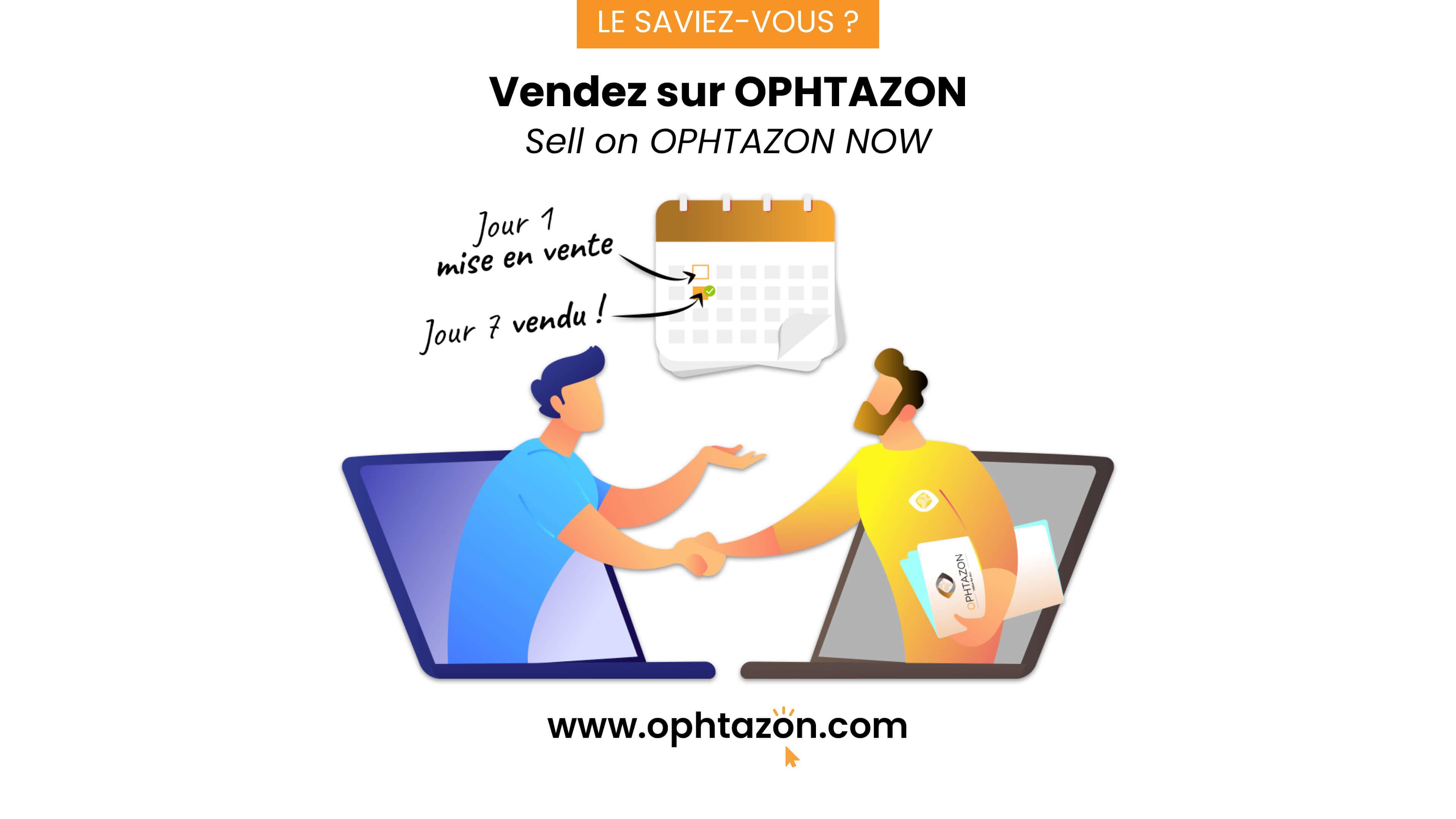 Vendez sur OPHTAZON