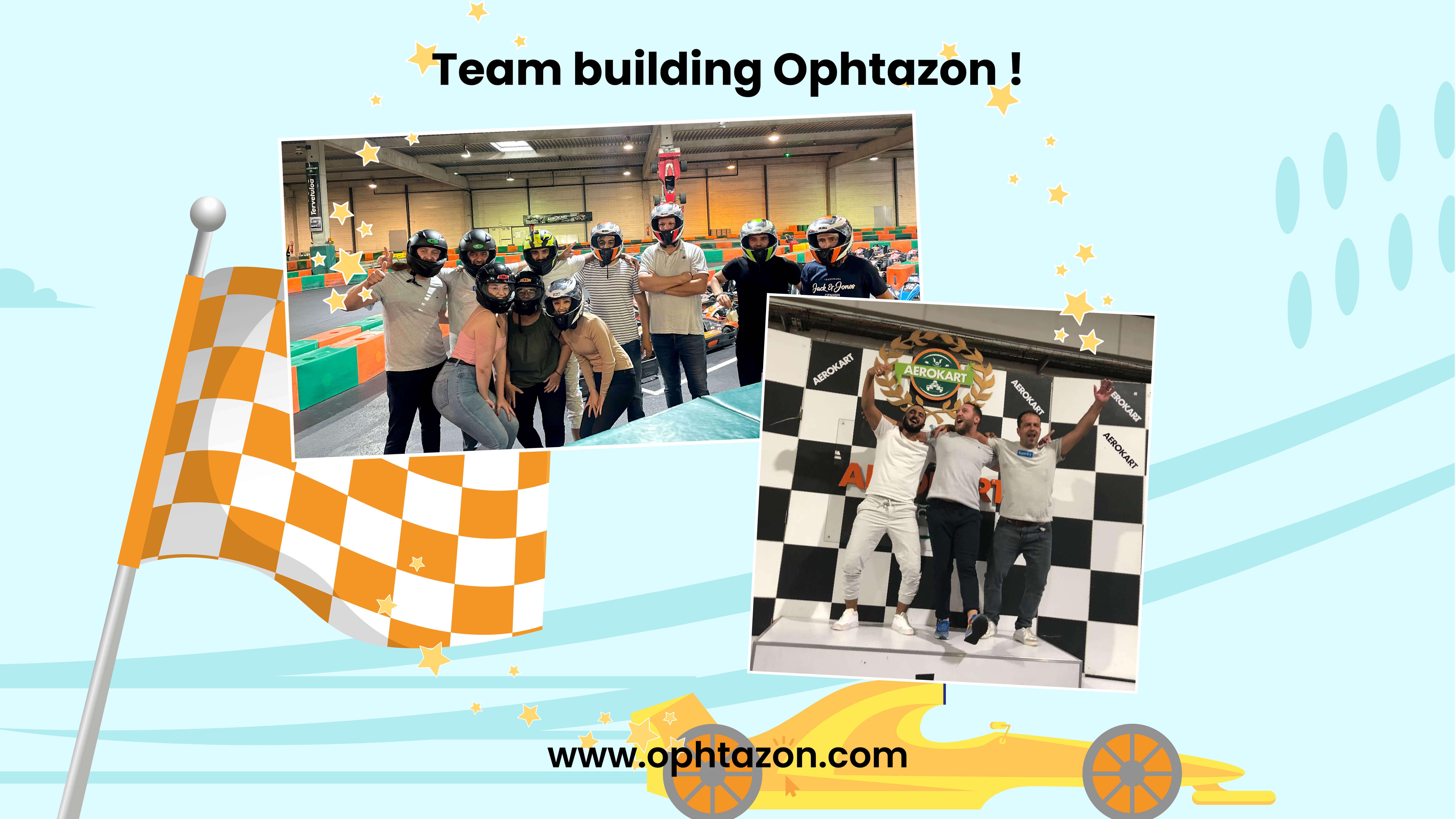 Une team building chez Ophtazon !